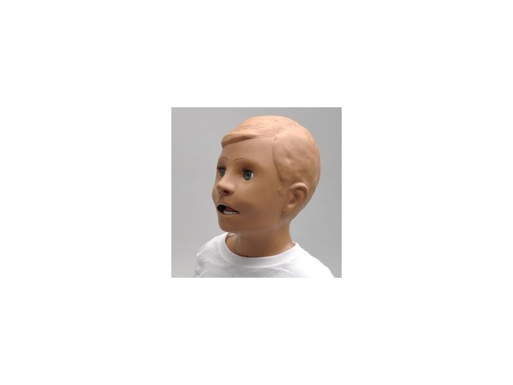 Víceúčelový pediatrický simulátor pro péči a záchranu nemocného