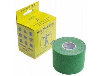 Kine-MAX Super-Pro Cotton - Kinesiologický tejp zelený