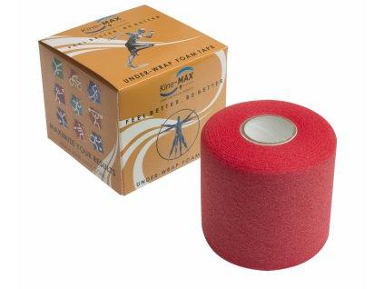 Kine-MAX Under Wrap Foam Tape - Podtejpovací páska 7cm x 27m - Červená