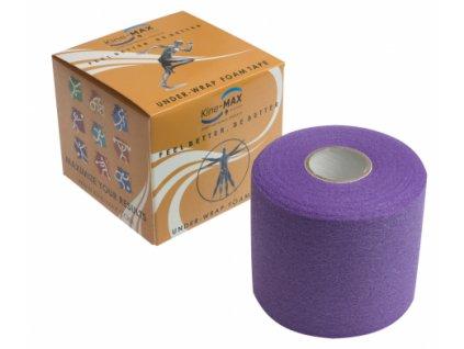 Kine-MAX Under Wrap Foam Tape - Podtejpovací páska 7cm x 27m - Fialová