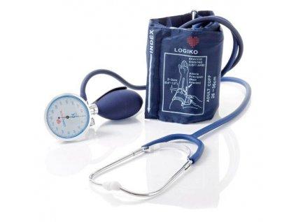 Ručičkový tonometr, manžeta dospělá, sada včetně stetoskopu