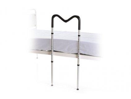 Zábrana k posteli, výškově nastavitelná