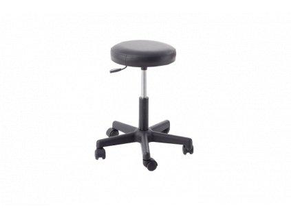 Pracovní stolička plastová s pěnovým sedákem