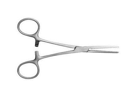 Peán - chirurgické cévní svorky, rovné, 14 cm