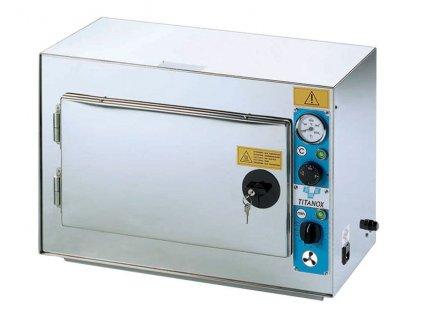 Horkovzdušný sterilizátor s nucenou cirkulací vzduchu, komora 20 litrů