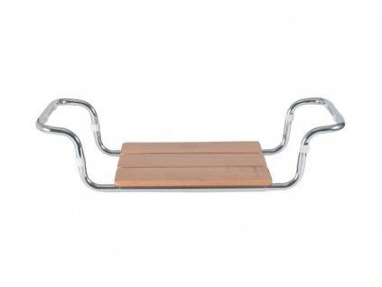 Dřevěná sedačka do vany