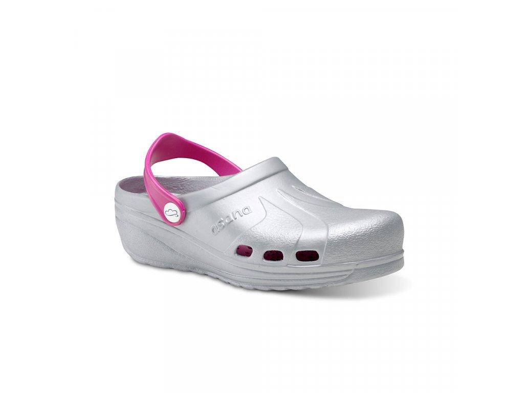 zdravotni-obuv-Feliz-Caminar-ASANA-stribrna