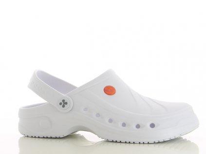 SONIC lehka protiskluzna pracovni obuv bila 076010 01