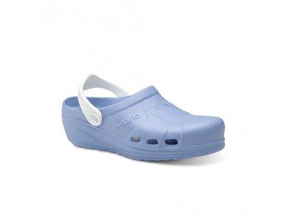 zdravotni-obuv-Feliz-Caminar-ASANA-svetle-modra