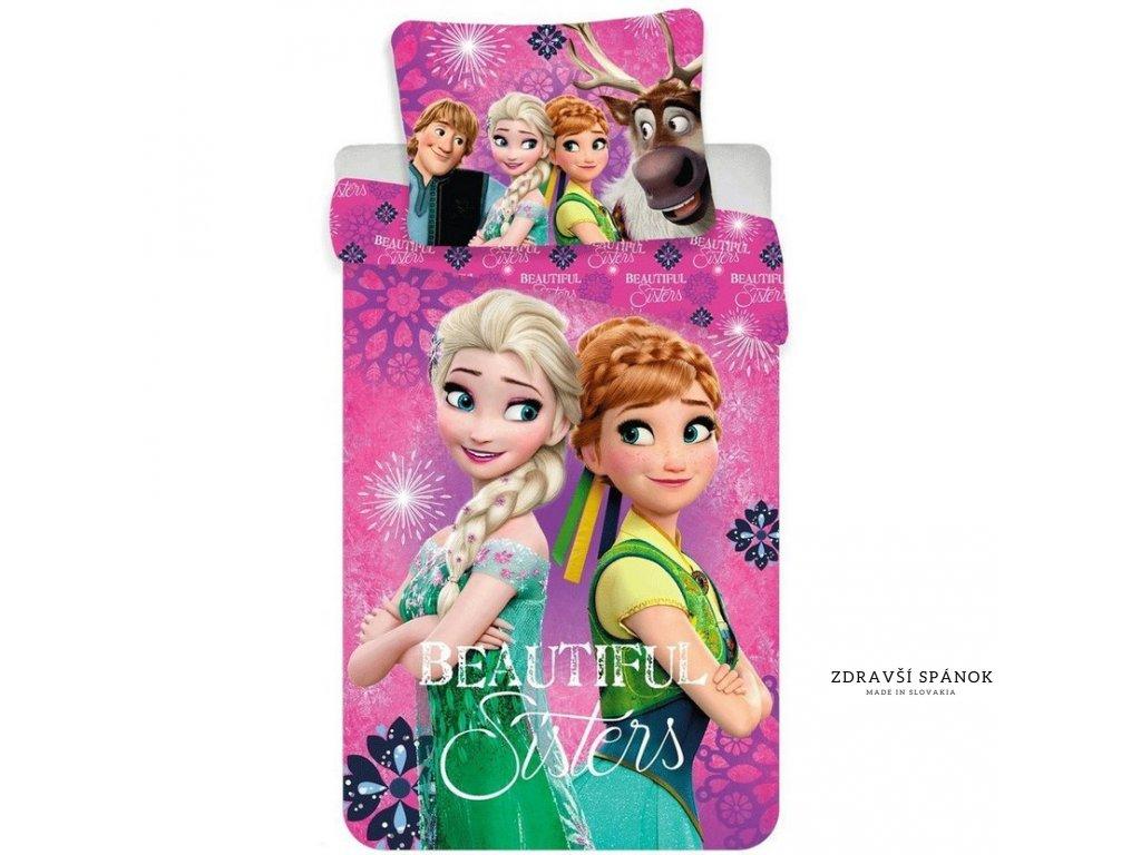 detske bavlnene obliecky frozen beautiful sisters 1full (1)
