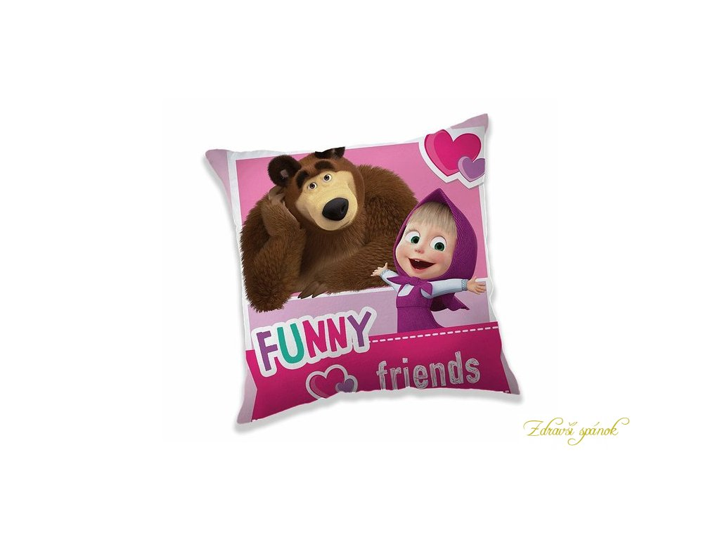 obliecka vankusik masa medved friends