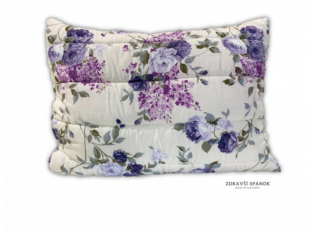 vankúš fialové kvety
