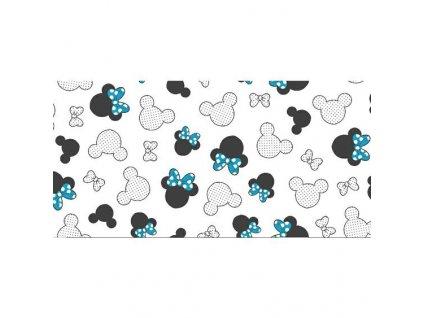 Posteľná obliečka do postieľky Mickey Mouse Blue 90x130/45x65cm