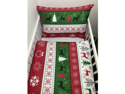 christmas redgreen postielka