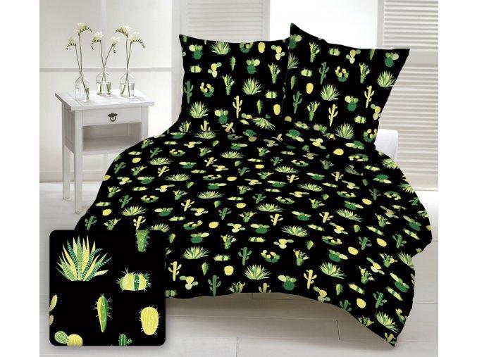 A913 kaktusy black posciel3Dwww (1)