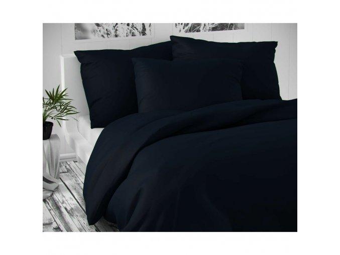posteľná obliecka cierna