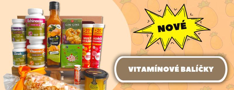 Nové vitamínové balíčky