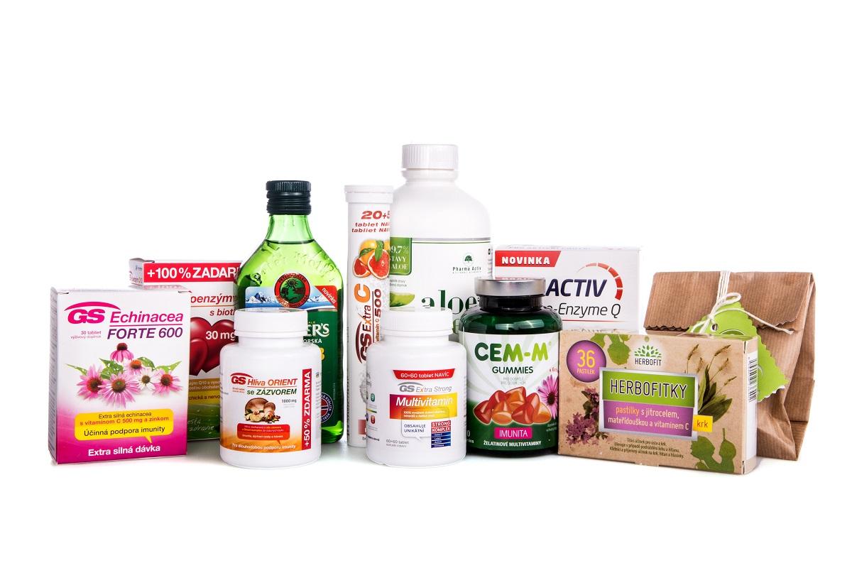 Vitamínové balíčky
