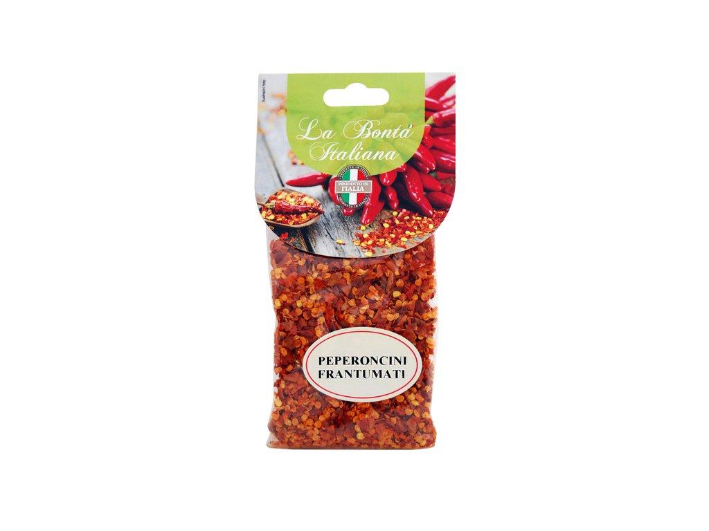 Peperoncini drcené chilli papričky 100g