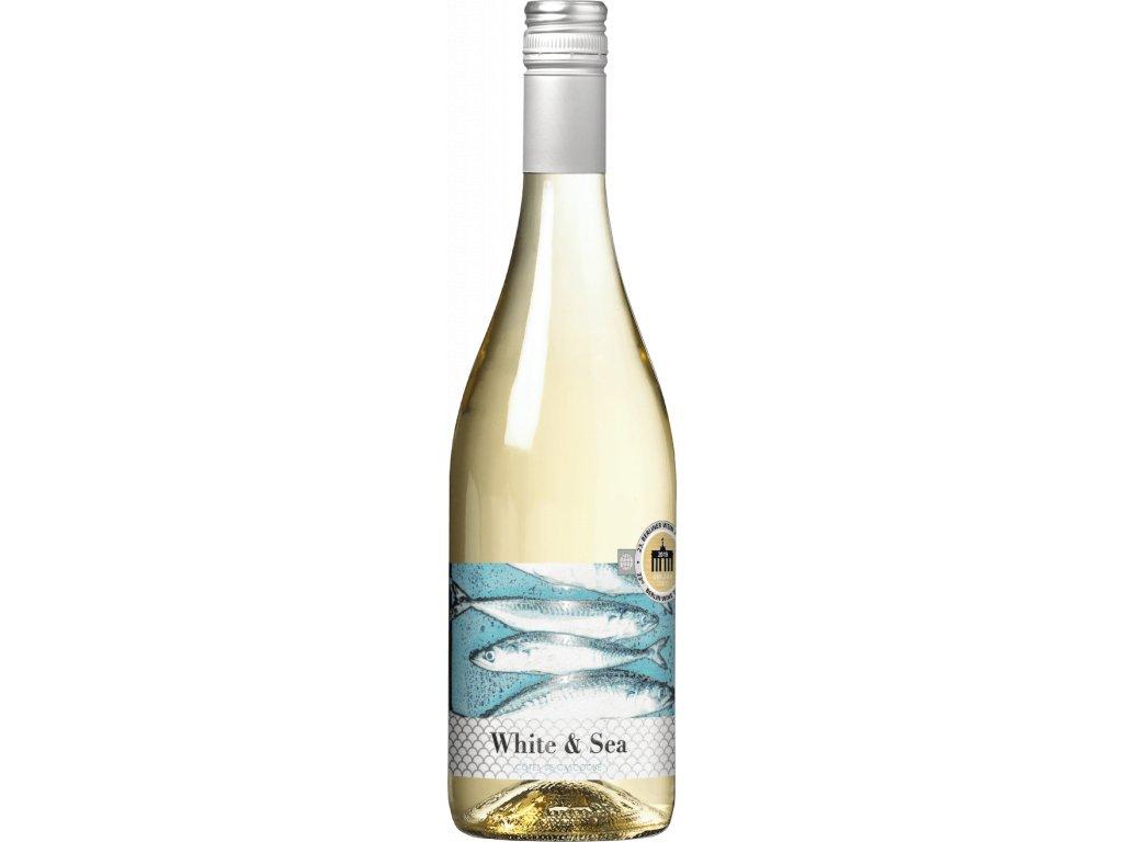 White & Sea Colombard - Sauvignon IGP francouzské bílé víno z oblasti Cotes de Gascogne