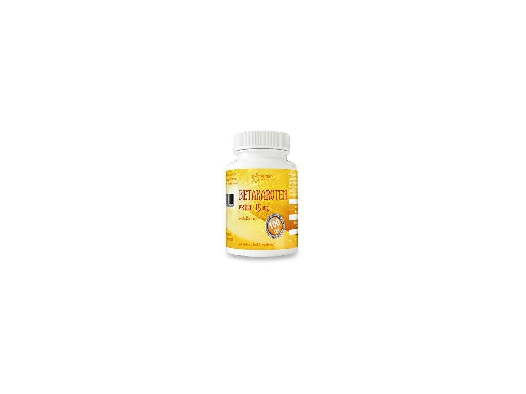 betakaroten extra 15 mg 100 tbl