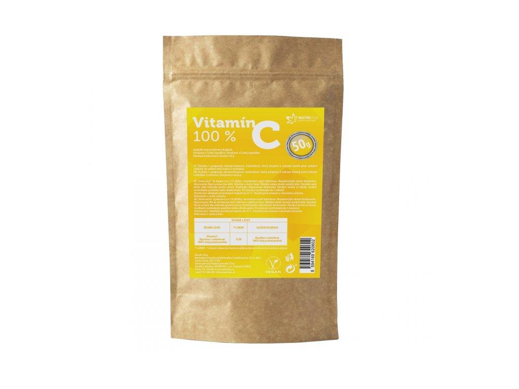 obrázek Vitamin C 100% 50g