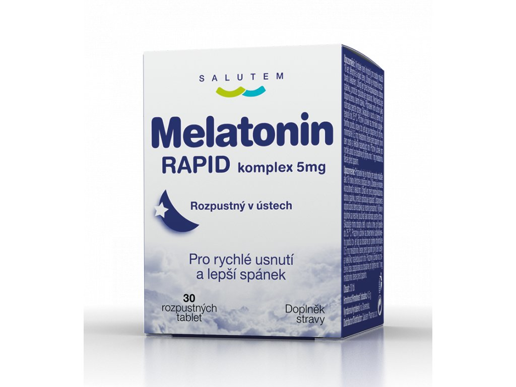MELATONIN RAPID komplex5mg 30tbl CZE P2