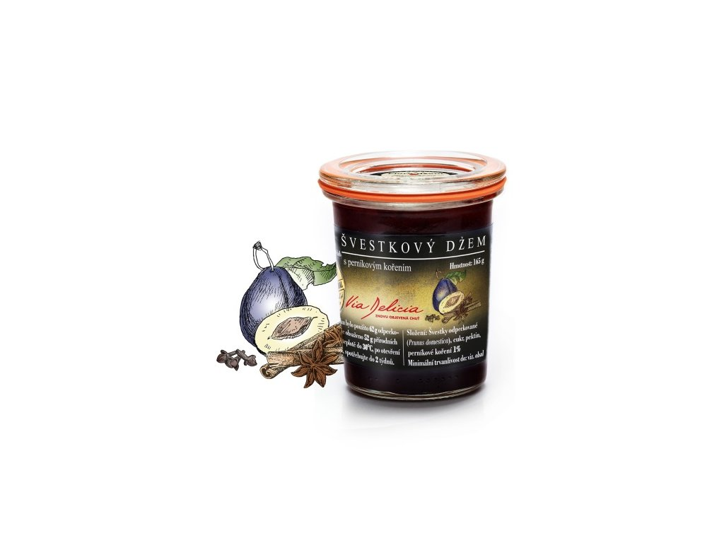 švestkový džem