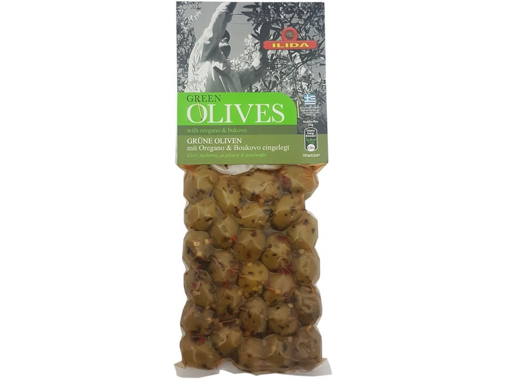 ilida zelene olivy oregano a buvolo