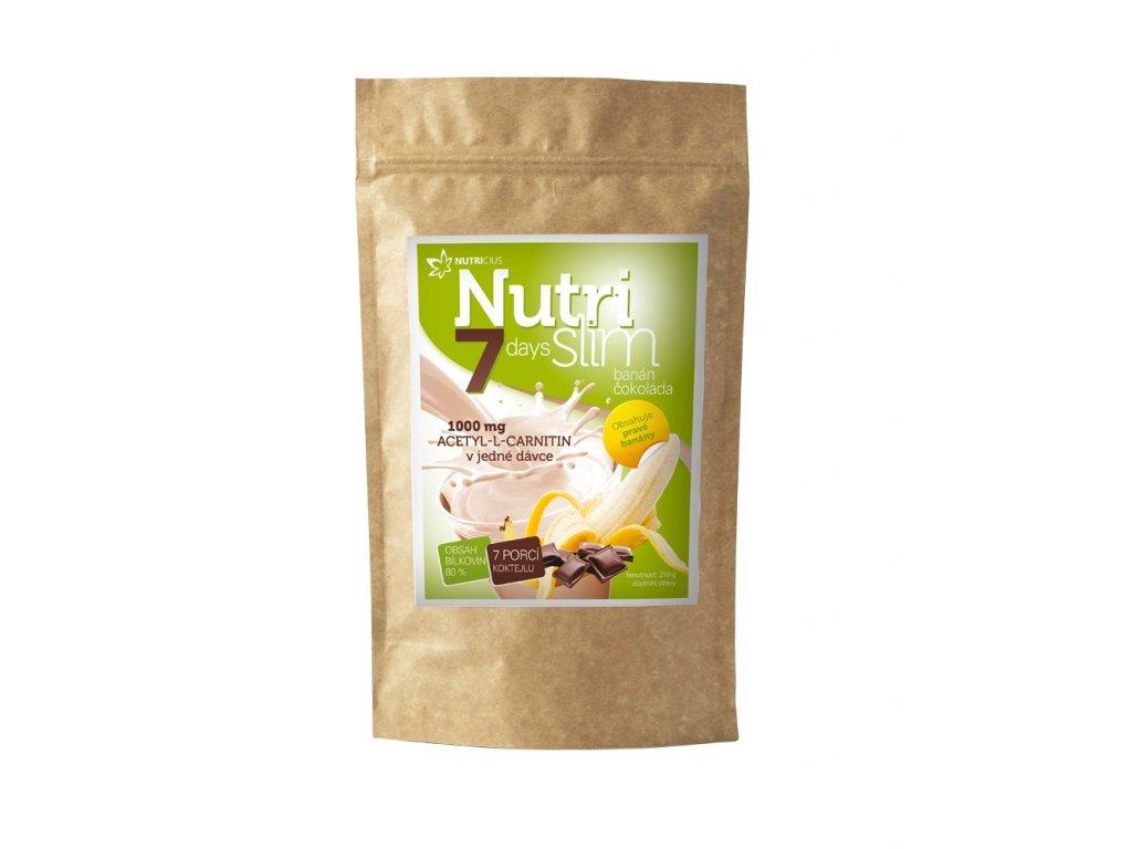NutriSlim banan cokolada 210g 2019