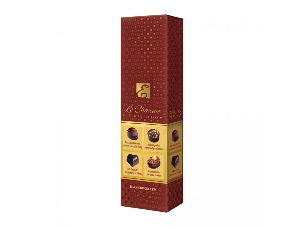 Emoti Le Charme 65g dark chocolates 015651