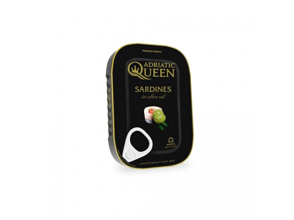 adriatic queen sardinky v olivovem oleji