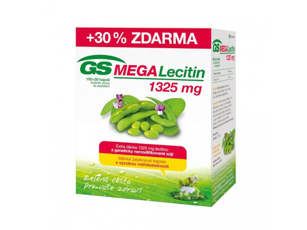 GS MEGA Lecitin 1325mg 100 30 kapsli min