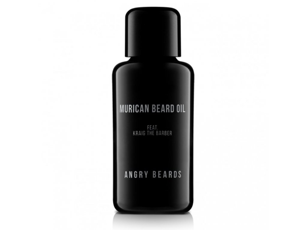 angry beards murican oil olej na vousy slickstyle cz