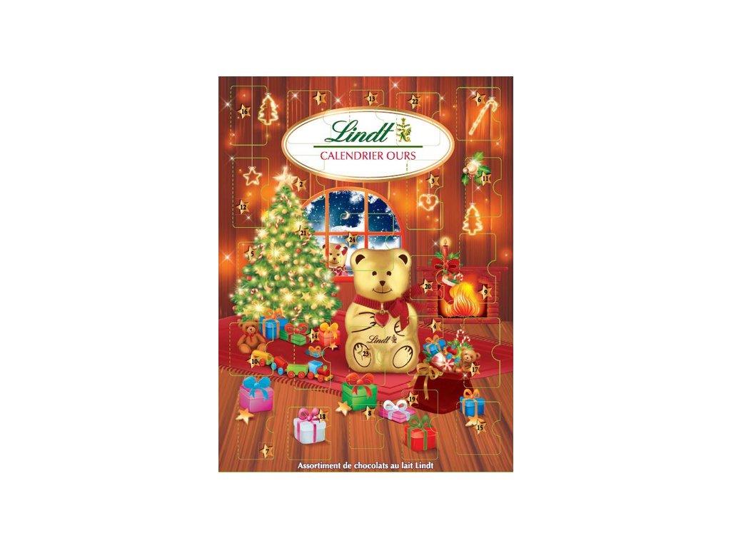 teddy lindt adventni kalendar