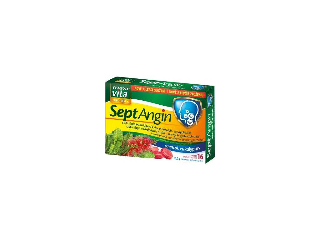 maxivita septangin mentol a eukalyptus doplnek stravy