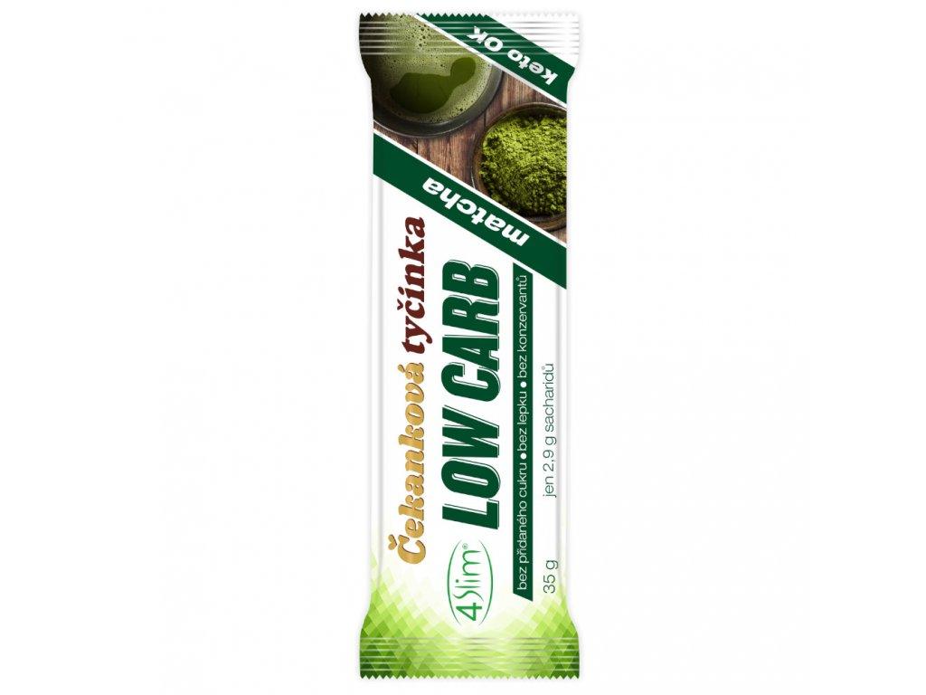 4slim cekankova tycinka low carb matcha