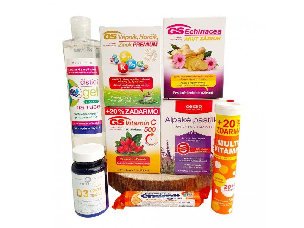 vitaminovy balicek s antibakterialnim gelem min