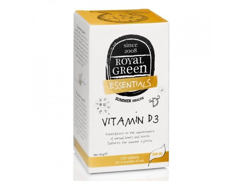 royal green vitamin d3 120tablet