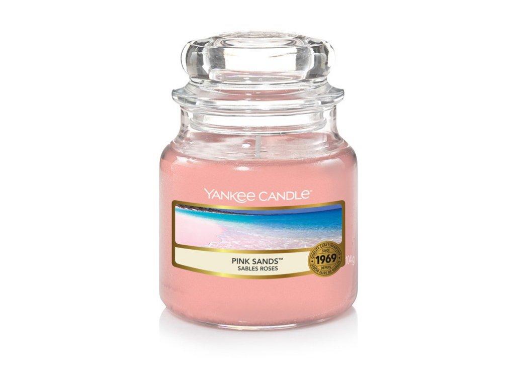 Yankee Candle Pink Sands vonná svíčka 104g
