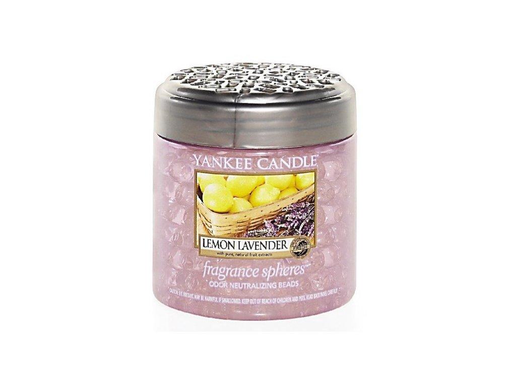 Yankee Candle Lemon Lavender voňavé perly Spheres 170g
