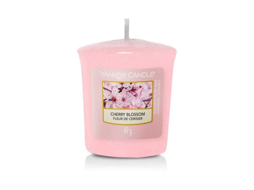 Yankee Candle Cherry Blossom votivní vonná svíčka 49g
