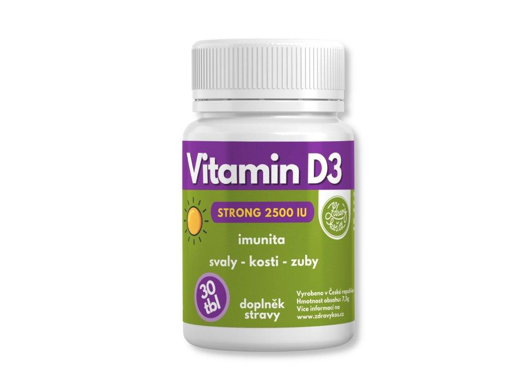 zdravykos vitamin d 3 30 tablet