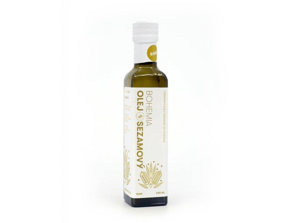 Olej Sezamový Bohemia 250ml 910x1155