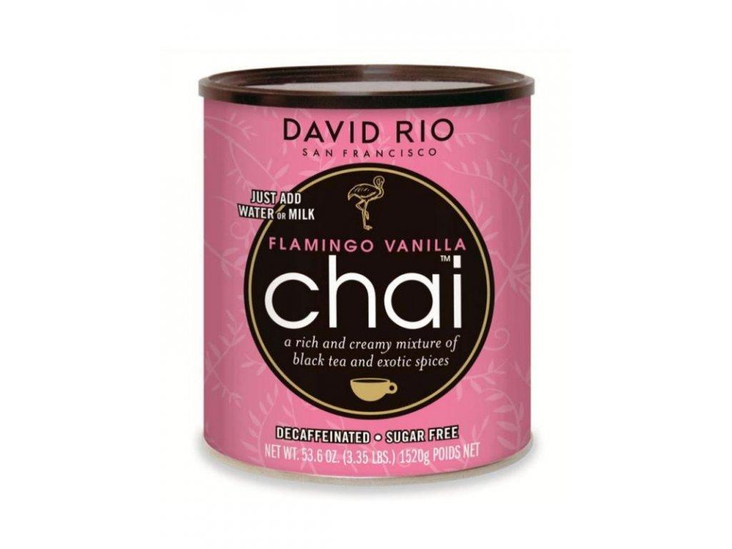 david rio flamingo vanilla sugarfree chai bez kofeinu a cukru gastro doza 1520 g
