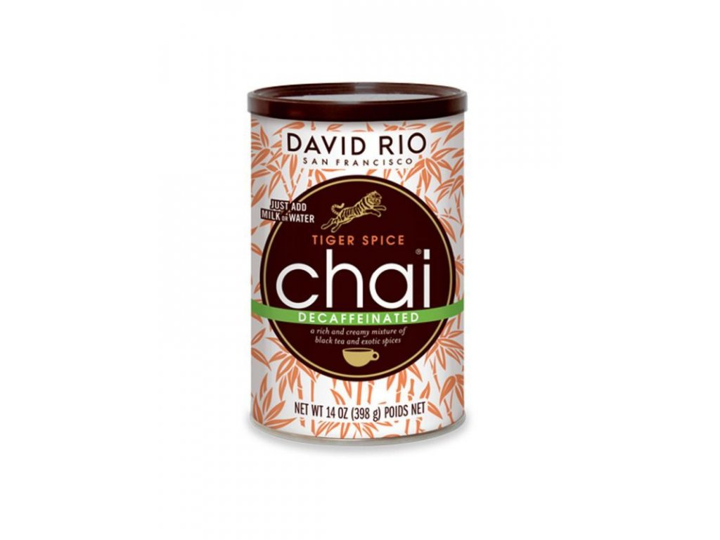david rio tiger spicy decaff chai bez kofeinu doza 398 g