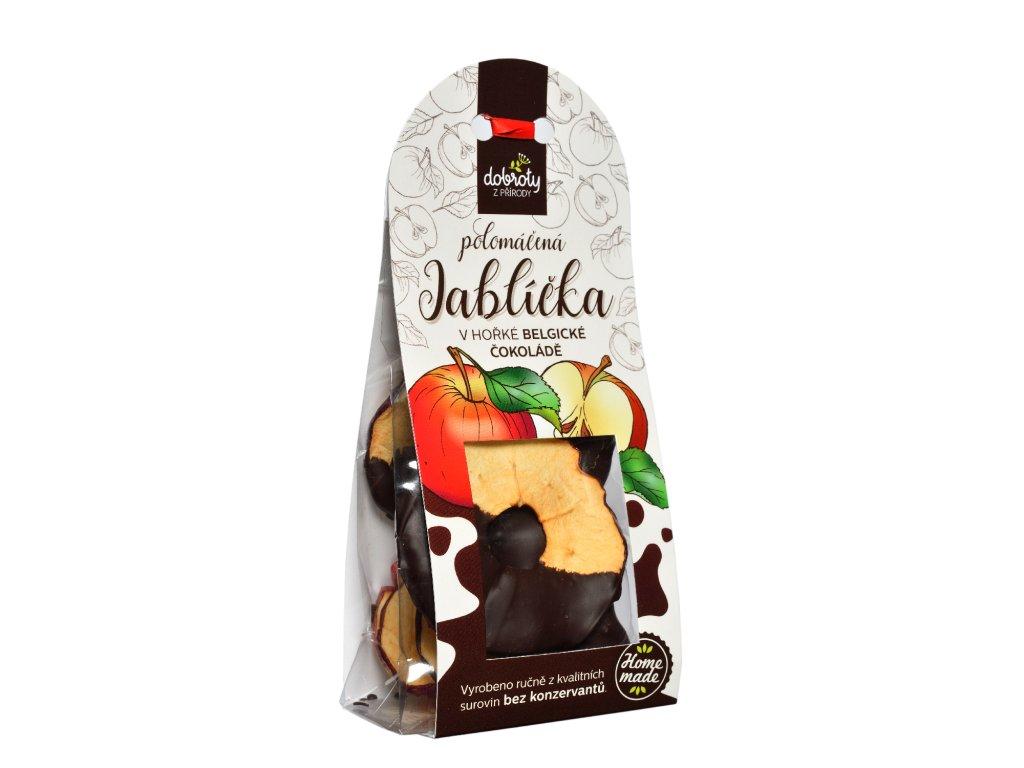 jablicka v cokolade