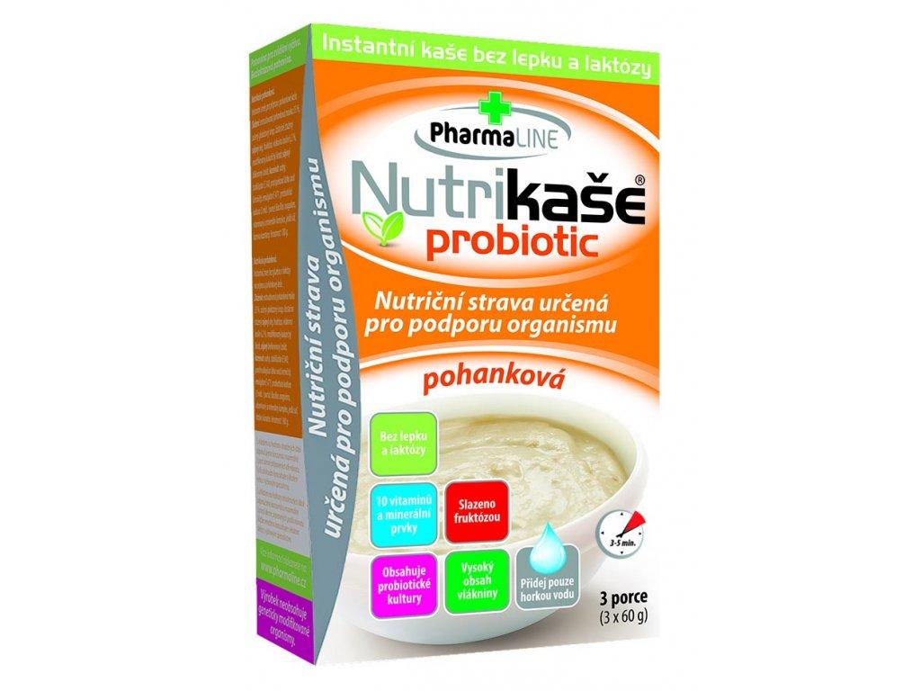 Nutrikaše probiotic Pohanka 3x60g 8595054902810