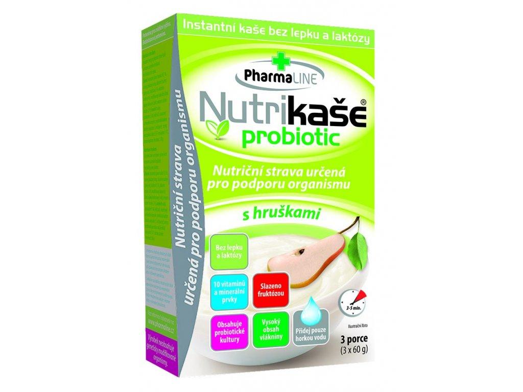 Nutrikaše probiotic s hruškami 3x60g 8595054904425