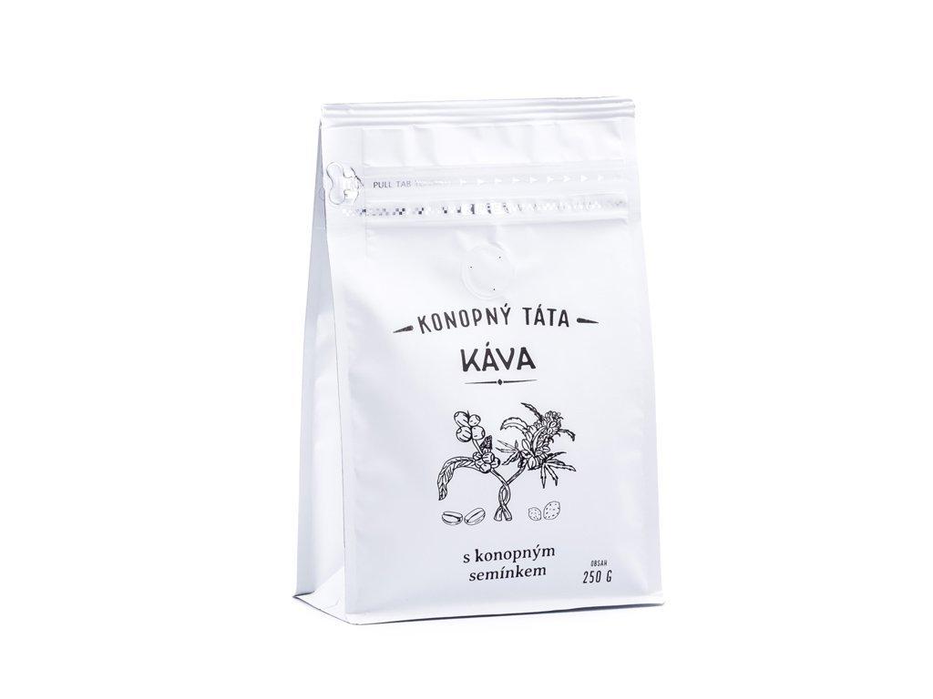 89 kava konopna s mletym konopnym seminkem